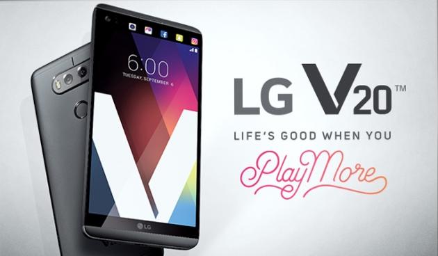 The LG V20