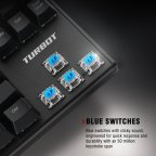 Turbot Tenkeyless Mechanical Gaming Keyboard